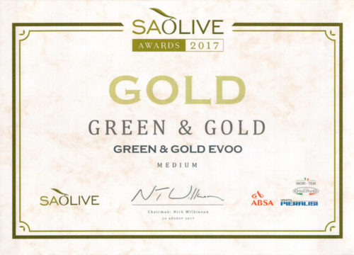 GNG awards gold